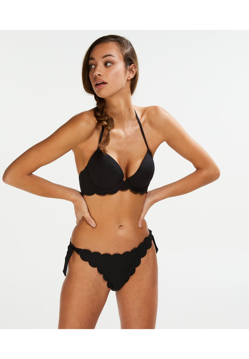 Hunkemöller - CHEEKY - Bikini bottoms - black