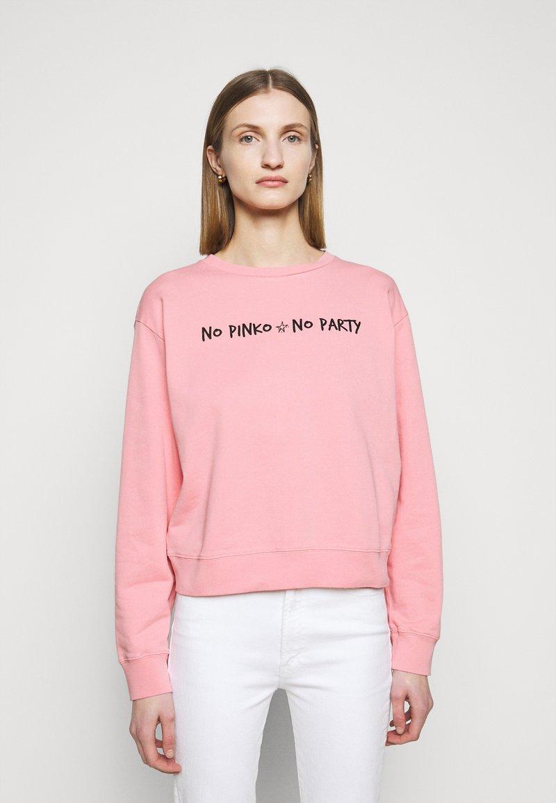 Pinko - ALGEBRA MAGLIA - Sweatshirt - pink