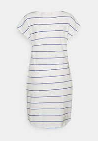 Vero Moda Tall - VMAPRIL SHORT DRESS 2 PACK - Jersey dress - black/snow white/dazzling blue - 3