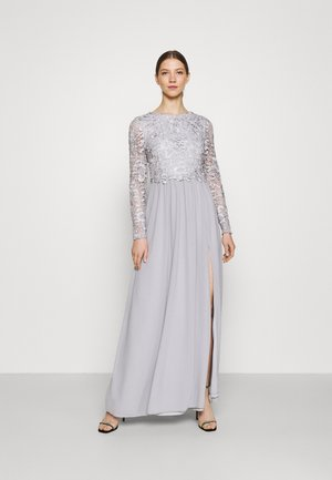 LACE TRIM GOWN - Iltapuku - pearl grey