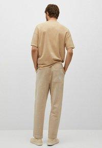 Mango - Trousers - hellgrau/pastellgrau - 2