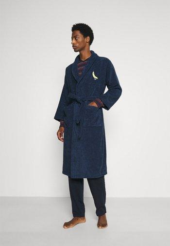 BATHROBE BANANAS - Dressing gown - navy