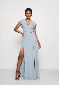 TFNC Tall - REA MAXI - Společenské šaty - dustry sage - 2