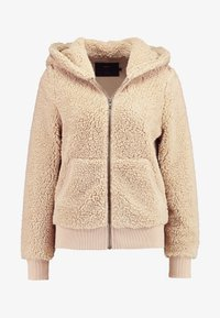 ONLY - ONYCAROLINE - Fleece jacket - beige - 5
