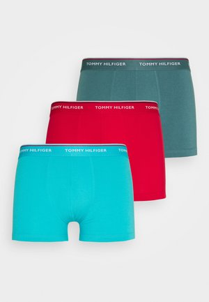 TRUNK 3 PACK - Onderbroeken - red/turquoise/teal