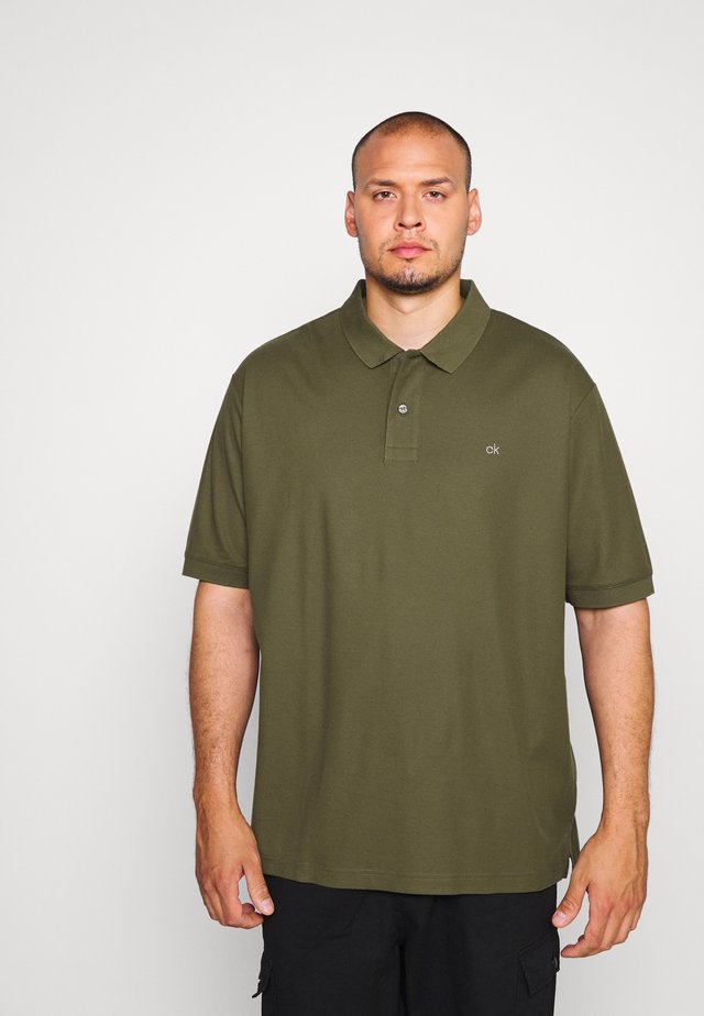 REFINED LOGO SLIM - Polo shirt - green