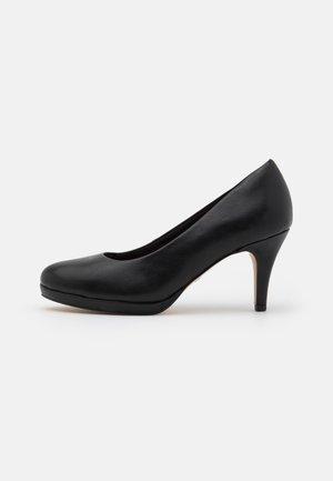 COURT SHOE - Pumps - black matt