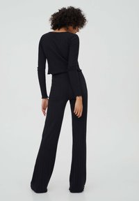 PULL&BEAR - Long sleeved top - black - 2