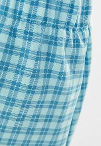 Bershka - A-line skirt - blue - 5