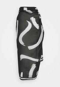Seafolly - NEW WAVE PAREO - Beach accessory - black - 2