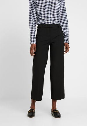 EVERYBODY WIDE LEG - Trousers - black