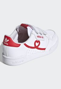 adidas Originals - CONTINENTAL 80 SHOES - Baskets basses - footwear white/vivid red - 3