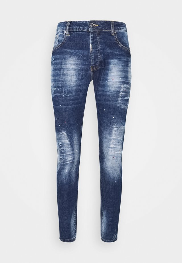ROSSI SUPER SLIM - Jeans Tapered Fit - mid wash