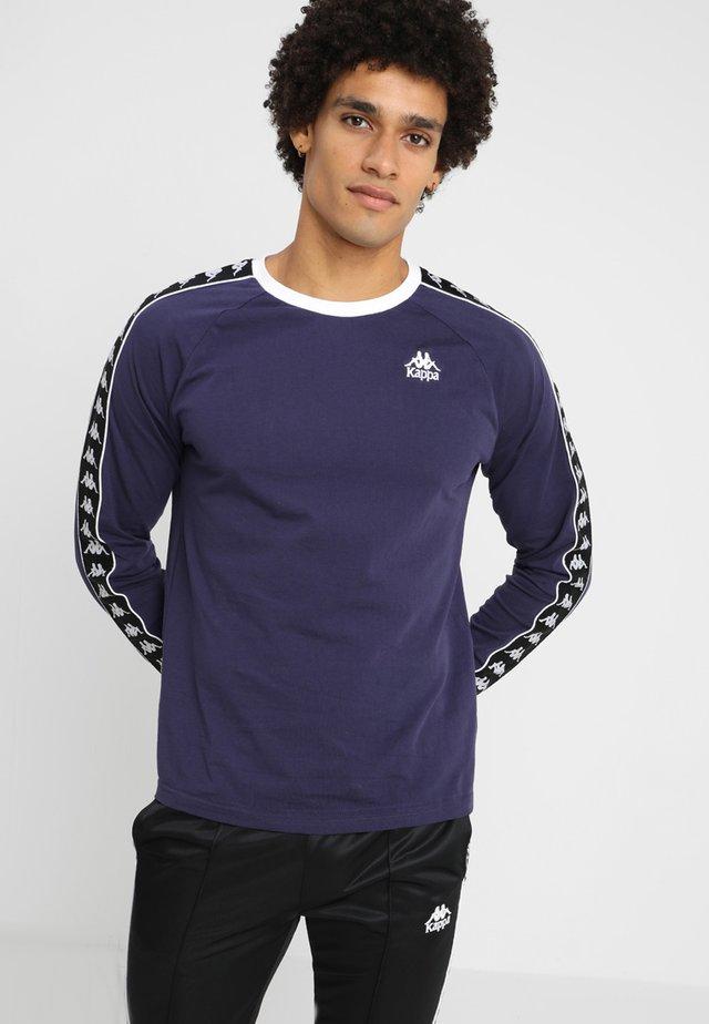 AUYEN - T-shirt à manches longues - dark blue/black