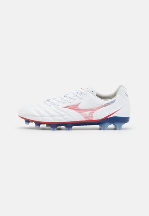 REBULA CUP ELITE - Moulded stud football boots - white/high risk red