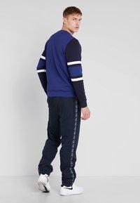 Lacoste Sport - SWEATER - Sweatshirt - ocean/navy blue/white - 2