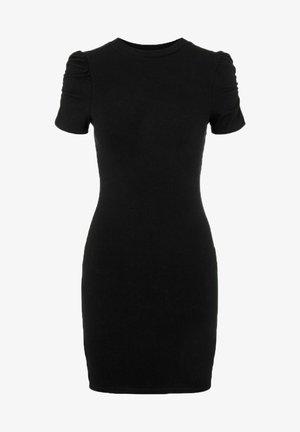 KURZÄRMELIG - Shift dress - black