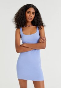 PULL&BEAR - Day dress - light blue - 0