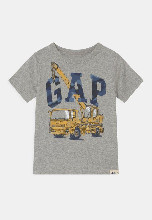 TODDLER BOY LOGO GRAPHIC - T-shirt print - light heather grey