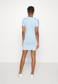 SIKSILK - SKY TAPE BODYCON DRESS - Jersey dress - light blue - 2