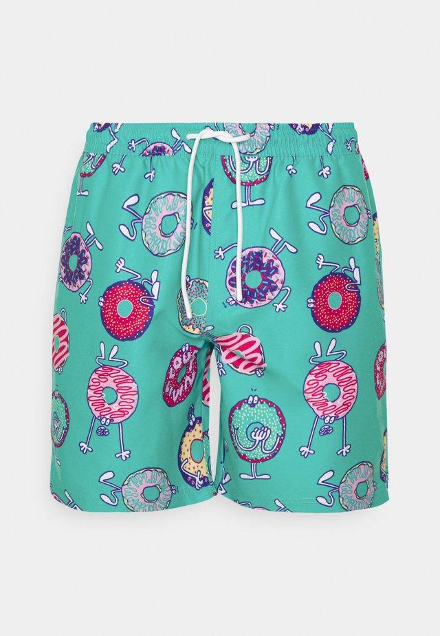 BOARDSHORTS DONUTS - Swimming shorts - jade