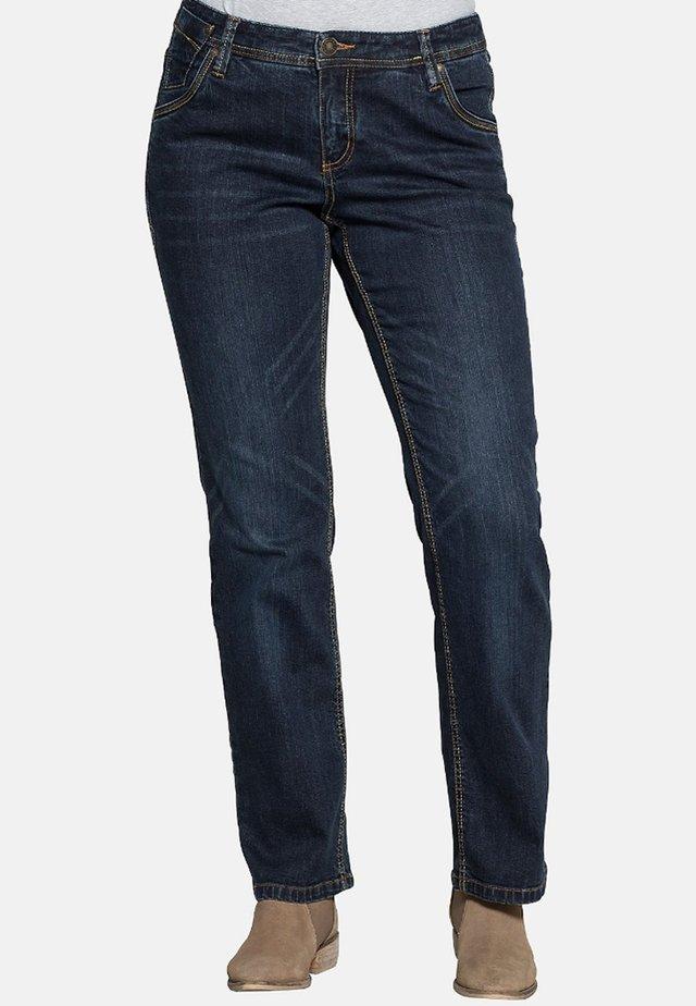 LANA - Straight leg jeans - dark blue denim