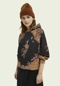 Scotch & Soda - ALL OVER PRINTED STATEMENT - Hoodie - combo m - 0