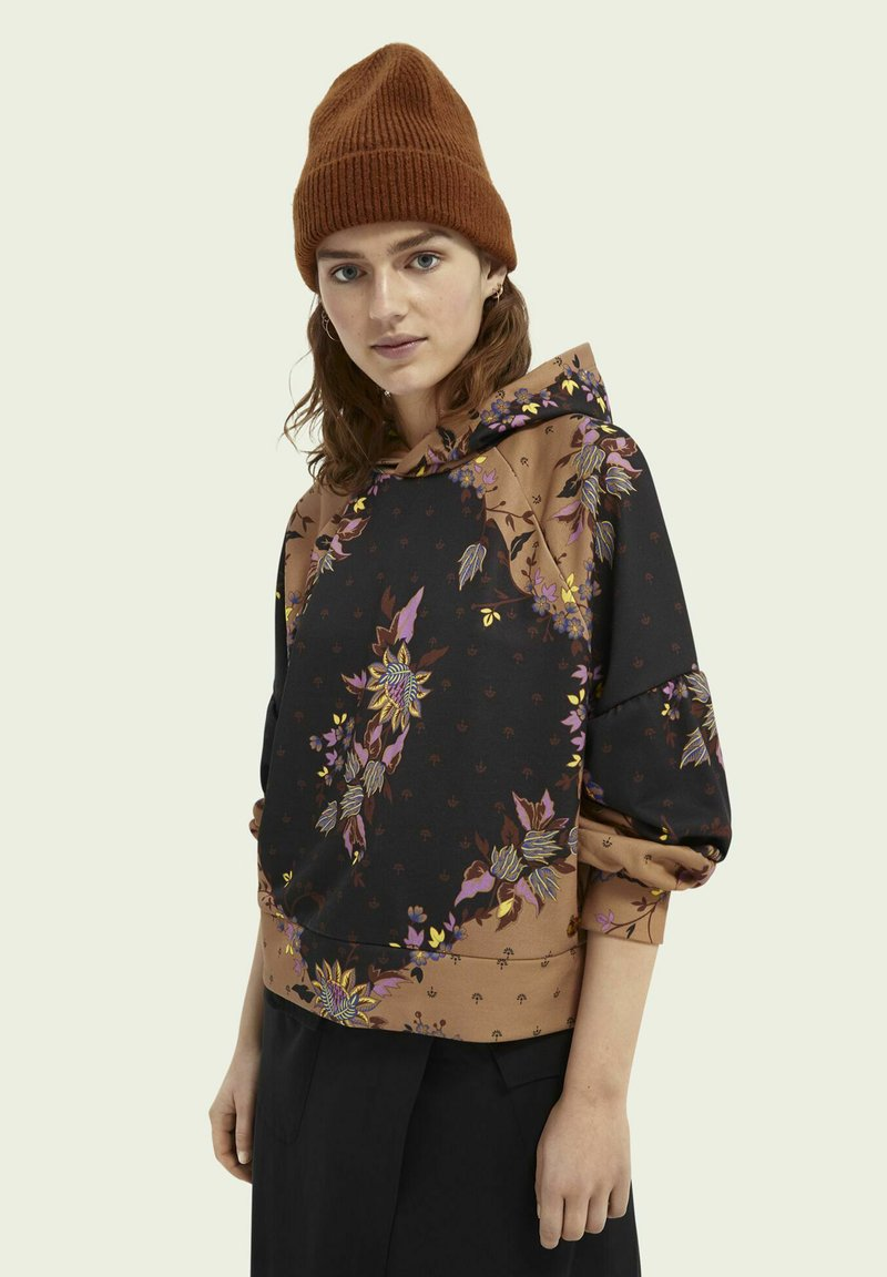Scotch & Soda - ALL OVER PRINTED STATEMENT - Hoodie - combo m