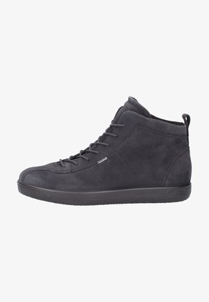 High-top trainers - dark grey