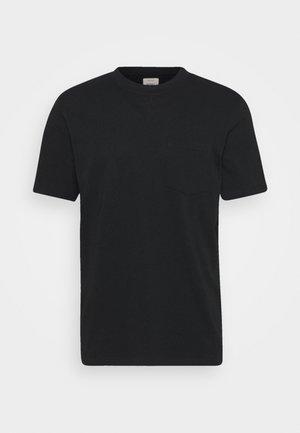 CLARKE TEE - T-shirt - bas - black