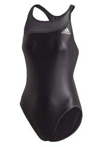 adidas Performance - GLAM-ON SHINY SWIMSUIT - Swimsuit - black - 8