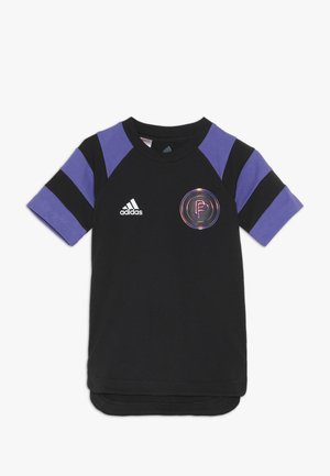 PAUL POGBA  - Print T-shirt - black/purple