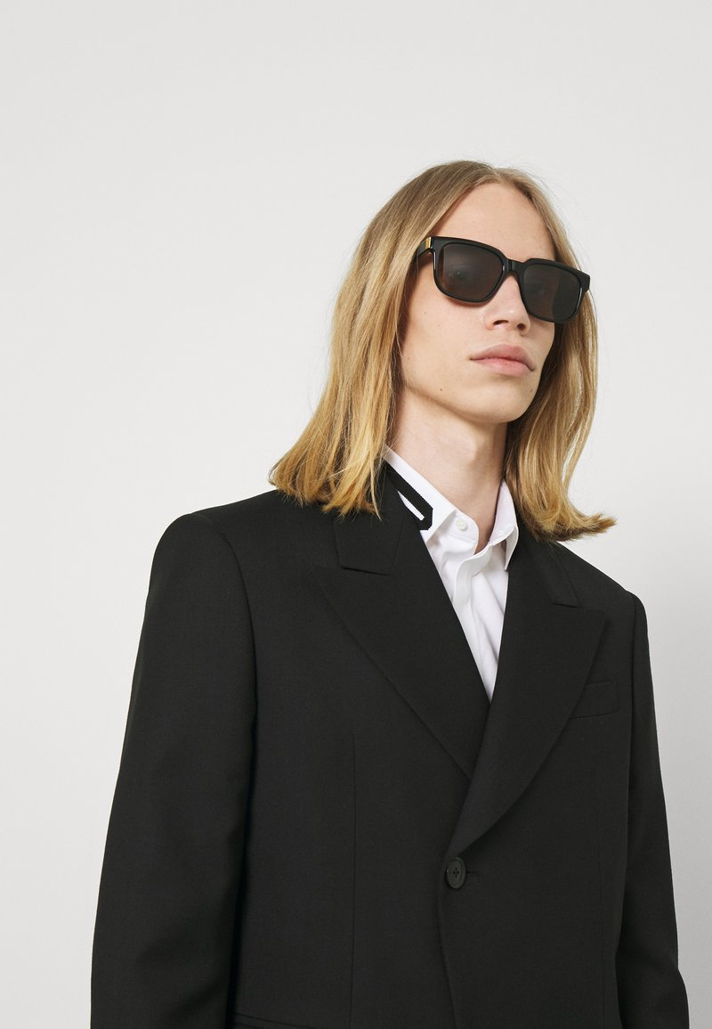 Dunhill - UNISEX - Sunglasses - black/brown