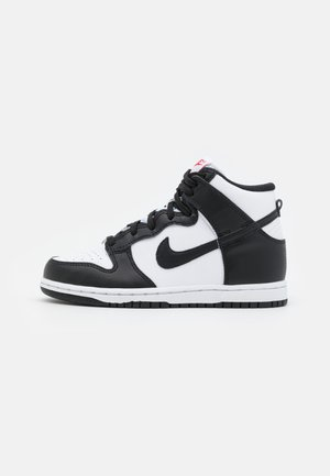 DUNK UNISEX - High-top trainers - white/black/university red