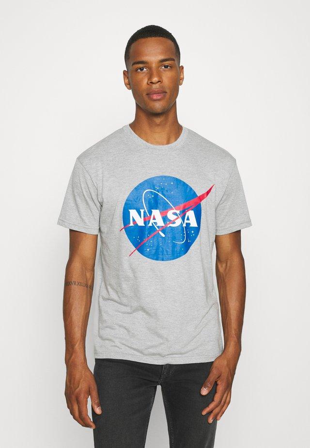 NASA - T-shirt print - grey marl