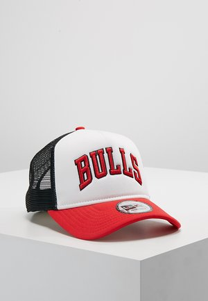 TEAM TRUCKER COLOUR BLOCK - Cap - red/white