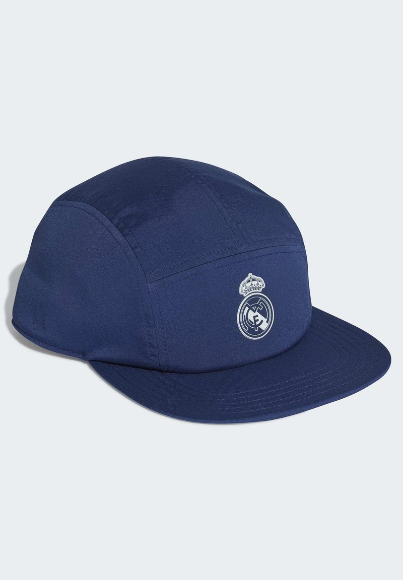 adidas Performance - REAL MADRID FIVE-PANEL CAP - Cap - blue