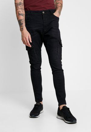 FRANCIS - Slim fit jeans - charcoal wash