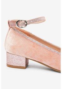 Next - MARY JANE HEELS (OLDER) - Ankle strap ballet pumps - pink - 4