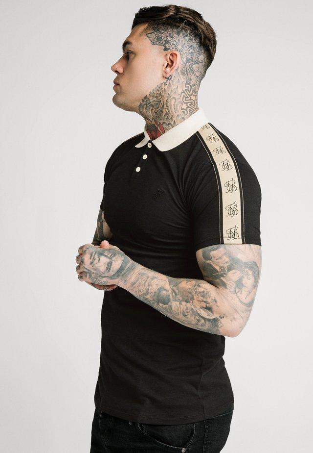 SIKSILK PREMIUM TAPE  - Poloskjorter - black & off white
