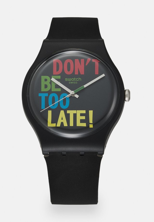TIMEFORTIME UNISEX - Watch - black