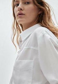 Massimo Dutti - Skjortebluser - white - 2
