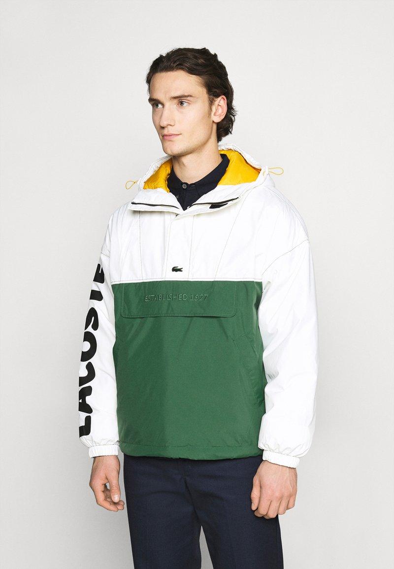 Lacoste LIVE - BH1134_X0N - Light jacket - flour/green