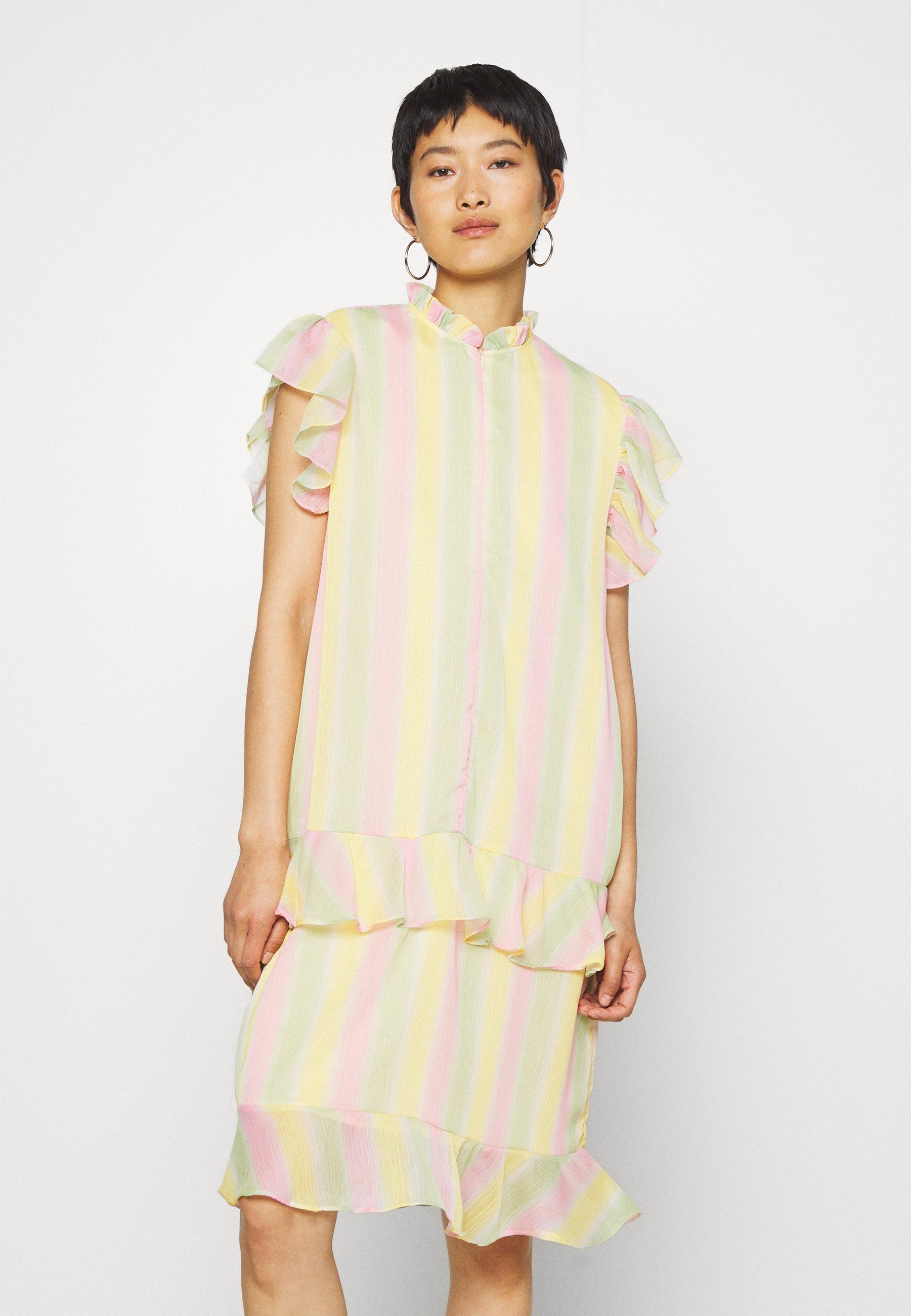 Niesamowita cena Duża obniżka HOSBJERG STINA DRESS - Sukienka letnia - multi-coloured | Odzież damska 2020 oi239