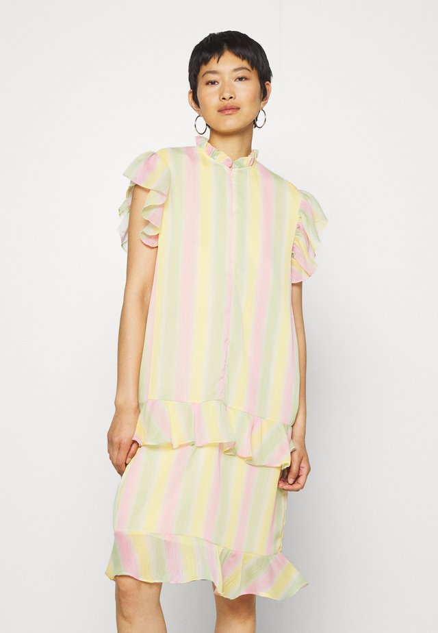 STINA DRESS - Vapaa-ajan mekko - multi-coloured