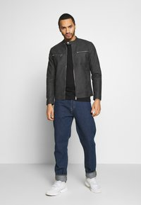 Only & Sons - ONSFAVOUR JUPITER  - Faux leather jacket - phantom - 1