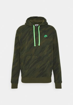 HOODIE - Sweatshirt - rough green/green strike