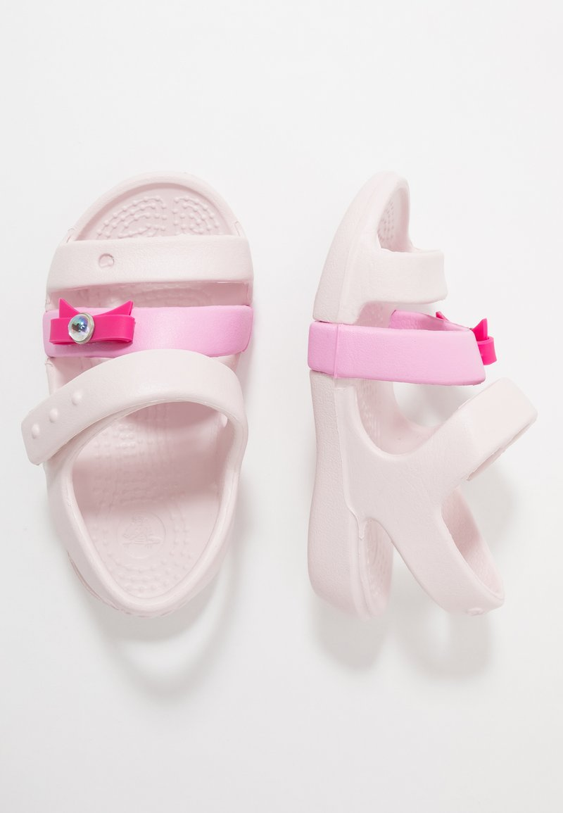 Crocs - KEELEY CHARM - Sandals - barely pink