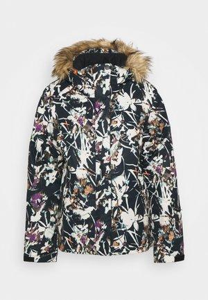 JET - Snowboard jacket - true black superlights