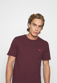 Levi's® - ORIGINAL TEE - Basic T-shirt - bordeaux - 3